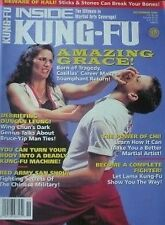 11/95 INSIDE  KUNG FU DUNCAN LEUNG GRACE CASILLAS BLACK BELT KARATE MARTIAL ARTS