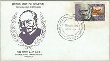 64680 -  SENEGAL - POSTAL HISTORY - FDC COVER 1979 - Sir ROWLAND HILL - STAMPS