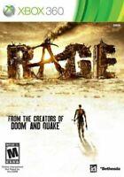 LOT of 3 Battle Fiield 3 Rage Splinter Cell: Conviction Microsoft Xbox 360