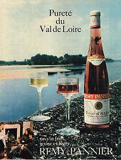 PUBLICITE ADVERTISING 035  1971  REMY PANNIER vin rosé  du VAL DE LOIRE