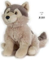NATIONAL GEOGRAPHIC WOLF PLUSH SOFT TOY 24CM STUFFED ANIMAL - BNWT