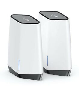 Orbi Pro WiFi 6 Tri-band Mesh System (SXK80) Router with 1 Satellite Extender.