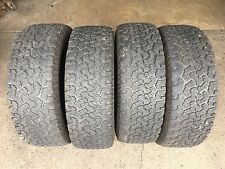 285/65R20L/T - 4 second hand tyres BF GOODRICH  All Terrain A/T $360.00