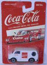Vintage Hartoy Coca-Cola COKE Toy Car - Bedford Van White China 1/64