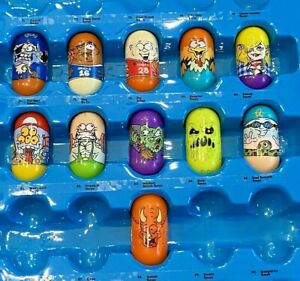 Lot of 11 Mighty Beanz #61, 69, 73, 74, 79, 83, 84, 91, 93, 104, 106 Moose
