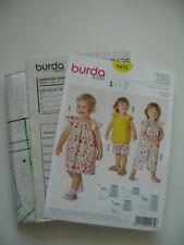 Burda kids Schnittmuster 9435 Kleid / Hose + Oberteil  / Overall Größe 68 - 98