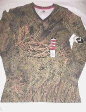 Mossy Oak BRUSH Camo Ladies T Shirts - You Pick  V - Neck Turkey Hunting Shirts