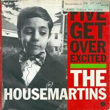 """THE HOUSEMARTINS - FIVE GET OVER EXCITED - 7"""" VINYL PICTURE SLEEVE 1987 GO DISCS"""