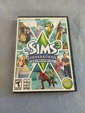 The Sims 3 Generations Expansion Pack Original Inserts Included PC Game EA