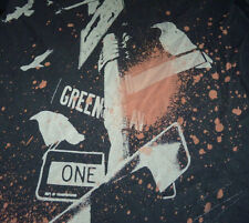 Republic Of Leisure - Black/Gray Graphic T Shirt (M) Birds City Street Signs USA