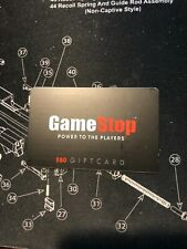 GameStop $50 Gift Card Good US-Nationwide No Expiration