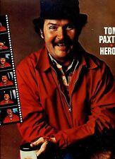 TOM PAXTON heroes UK 1978 EX+ LP