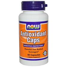 Antioxidant Caps - 60 Capsules by Now Foods - Powerful Free Radical Scavengers