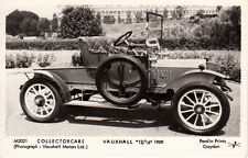 "black & white photographic print post card of a "" vauxhall 12'16 1909 """