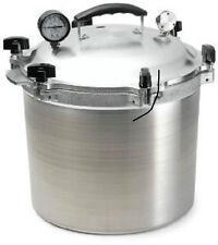 All-American 921 21-1/2-Quart Pressure Cooker/Canner Aluminum NEW! Steam Gauge