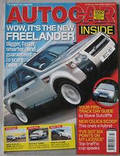 Autocar 14/2/2006 featuring Mercedes, Vauxhall, Land Rover, Porsche, Audi