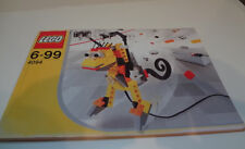 Lego Instructions Pamphlet Brochure Booklet Book: #4094 6-99 INVENTOR