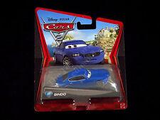 Disney Pixar Cars 2 Bindo Blue Maserati Mattel Die-cast Porto Corsa Card, Sealed
