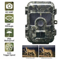 16MP Trail Game Camera HD 1080P Wildlife Hunting Cam Night Vision Waterproof NEW