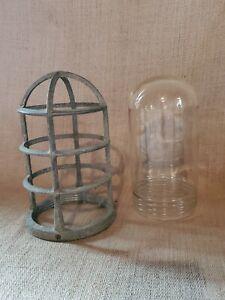 Vintage KILLARK VCG-100 Hazardous Location Glass Globe and Cover Only