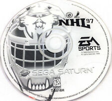 Sega Saturn Game NHL 97 Hockey Game Disc Only in Jewel Case 1996 EA SPORTS