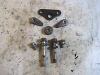1977-1979 SUZUKI GS750 GS 750 ENGINE MOUNT PLATE SET NUMBER 2 FULL ASSEMBLY