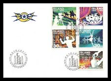 Iceland 1994 FDC, 50 Years of Creative Art and Culture. Lot # 2.