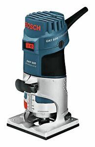 Bosch Blau Professional GKF 600 Kantenfräse - im Handwerkerkoffer - 060160A100