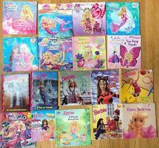 Lot 30 BARBIE Picture Books Princess Mermaid Cheerleading Ballet Wedding Spy
