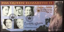 Benham 6.2.2002 Queen's Golden Jubilee FDC signed COUNTESS MOUNTBATTEN Of BURMA