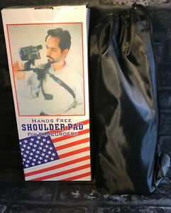 Hands free Shoulder Pad for Camcorders - Opened / Unused