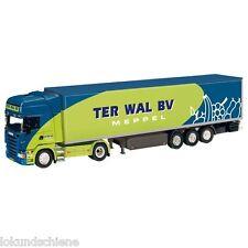 NZG SCANIA semirimorchio frigorifero Autoarticolato WAL TER. 1:50. art. #7141/03