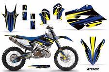 AMR Racing MX Husqvarna TC 125/250 FC 250-450 Graphic Kit Bike Decal 14-15 ATTK