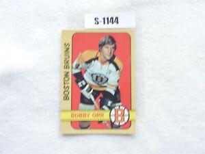 HOCKEY CARD O PEE CHE 1972 BOBBY ORR BOSTON BRUIN S1144