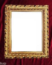 Wall Mirror 43x36 Mirror Baroque Rectangular Gold Picture Frame Arabesco 2