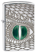 Zippo dragon eye, Armor case, Chrome High polished 60000246 Coll. 2015