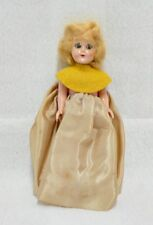 "Vintage 6"" Plastic Doll With Eyes That Open And Shut"