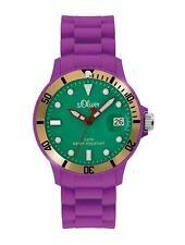 Armbanduhren aus Kunststoff mit Silikon -/Gummi-Armband für Erwachsene