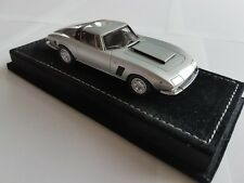 Iso Grifo 7 Litri Silver On Black leatherbase 1:43 Neo