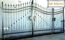 Cancello arcato in ferro pieno martellato (SCONTATO AL 50%)