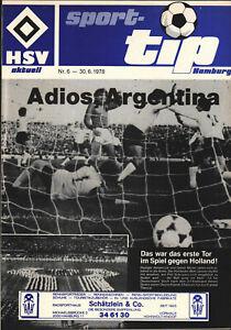 WM 1978 Argentinien - Rückblick Deutschland, Polen, Niederlande / Holland - HSV