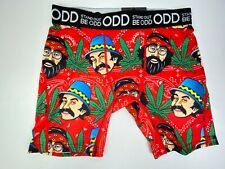 Odd Stand Out Be Odd Cheech & Chong Pot Leaves Vibrant Boxer Briefs Mn's Nwt