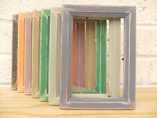 Picture/Photo Frame/Distressed/Vintage/Shabby Chic/Pine/7 Colour Options/3 Sizes
