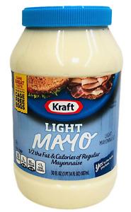 Kraft Light Mayo Mayonnaise 30 oz