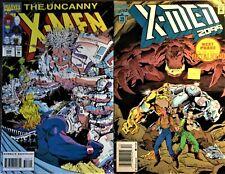X-Men 2 Comics Lot: Uncanny X-Men #306 1993 Siege of Darkness & X-Men 2099 #15