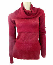 Women's Thin Knit Hip Length None Cowl Neck Jumpers & Cardigans