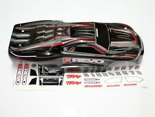 NEW TRAXXAS 1/16 E-REVO Body Factory Painted Black RE6K