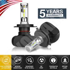 CREE H4 HB2 9003 2000W 300000LM LED Headlights Kits Hi/Low Power Bulbs 6000K US