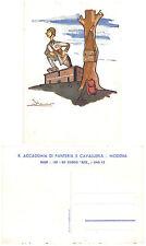 C3237) WW2 R. ACCADEMIA CAVALLERIA E FANTERIA DI MODENA, CORSO REX 1940/42.