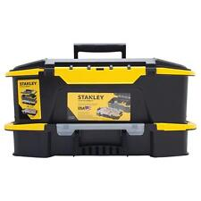 Stanley 12 in. Portable Tool Box Lockable Garage Small Parts Storage Organizer